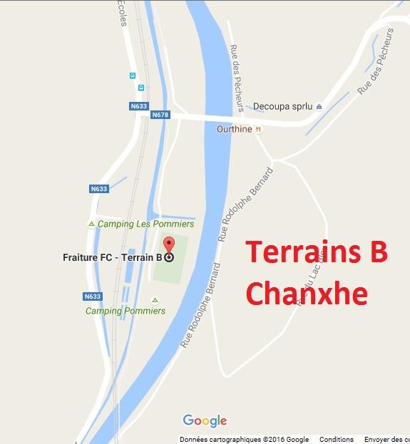 Terrain B : Chanxhe !!